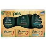Kit Spa Dos Pés Dr.ideal Com 3 Cremes - Ideal