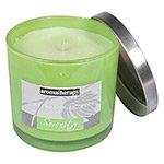 Vela Perfumada Green Tea & Cucumber Serenity