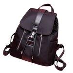 Lady Leve Moda Mochila Solid Color ombro Waterproof Bag com alça