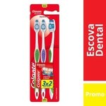 Escova Dental Colgate Classic Clean Leve 3 Pague 2
