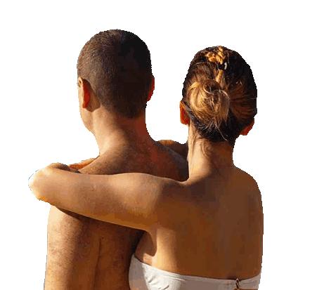 casal-pronto-férias no Araguaia