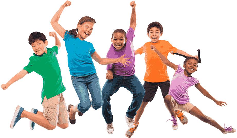 crianças pulando serra do roncador novo